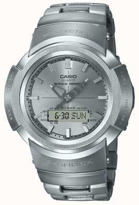 Casio G-shock | pulsera de metal completo | controlado por radio AWM-500D-1A8ER