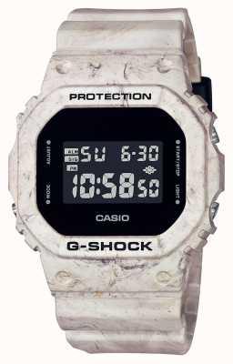 Casio G-shock | mármol ondulado utilitario | Pantalla digital DW-5600WM-5ER