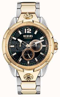 Versus Versace Reloj runyon de acero inoxidable de dos tonos para hombre VSP1L0421