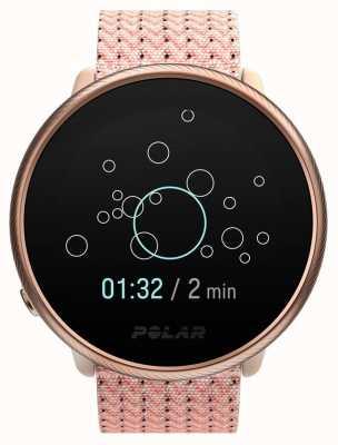 Polar Ignite 2 | rosa y rosa | rastreador de actividad y hr | correa de tela rosa | s / m 90085186
