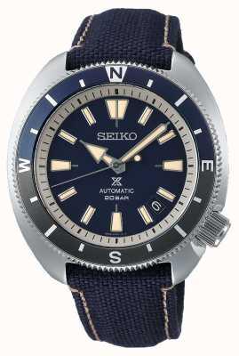 Seiko Prospex   edición terrestre 'tortuga'   correa azul SRPG15K1