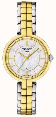 Tissot Esfera de nácar t-lady flamingo T0942102211101