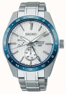 Seiko Presage sharp edged gmt: edición limitada 140 aniversario SPB223J1