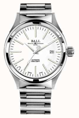 Ball Watch Company Bombero automático esfera blanca de 40 mm NM2098C-S20J-WH