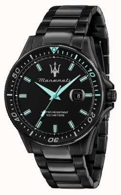 Maserati Reloj sfida aqua edition chapado en negro R8853144001