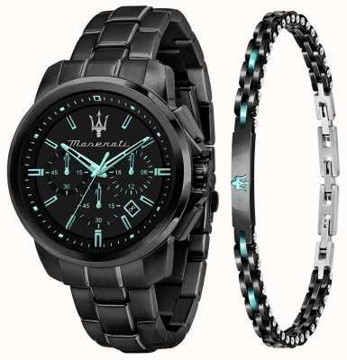 Maserati Reloj y pulsera aqua edition para hombre R8873644004