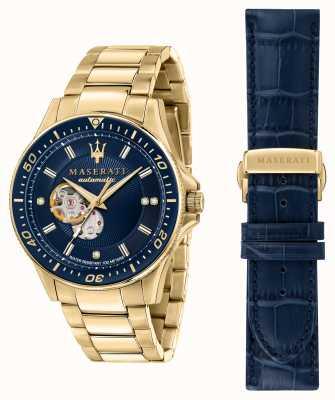 Maserati Reloj sfida con diamantes bañados en oro R8823140004