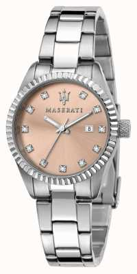 Maserati Esfera de cristal rosa competizione para mujer R8853100509