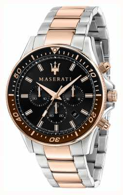 Maserati Pulsera sfida de doble tono para hombre R8873640009