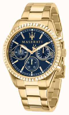 Maserati Reloj Competizione para hombre de oro amarillo R8853100026