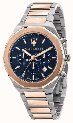 Maserati Reloj cronógrafo stile para caballero de dos colores R8873642002