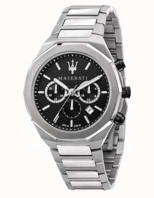 Maserati Reloj cronógrafo stile de acero inoxidable para hombre R8873642004