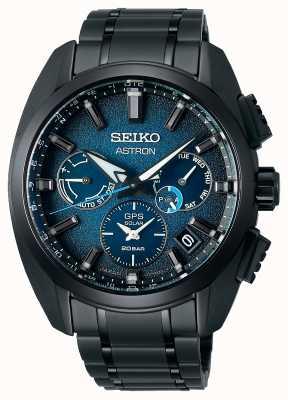 Seiko Astron global active ti edición limitada esfera azul SSH105J1