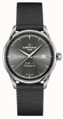 Certina Reloj ds-1 powermatic 80 con esfera gris C0298071108102