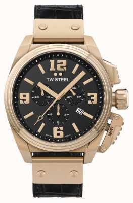 TW Steel Cantimplora acero inoxidable chapado en oro pvd TW1014