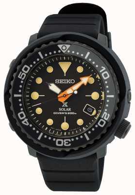 Seiko Prospex black series 'tuna' edición limitada SNE577P1