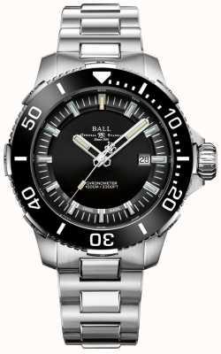 Ball Watch Company Reloj deepquest de cerámica con esfera negra DM3002A-S3CJ-BK