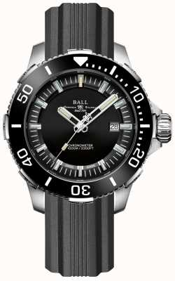 Ball Watch Company Bisel y esfera negros de cerámica Deepquest DM3002A-P3CJ-BK