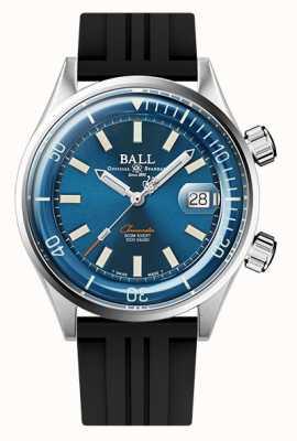 Ball Watch Company Engineer master ii diver cronómetro esfera azul correa de caucho DM2280A-P1C-BE