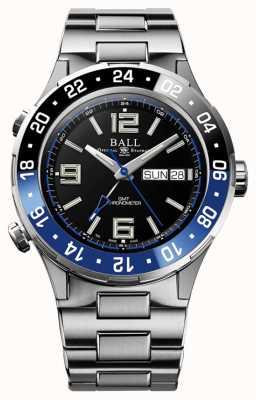 Ball Watch Company Roadmaster marine gmt ceramica azul y negro DG3030B-S1CJ-BK