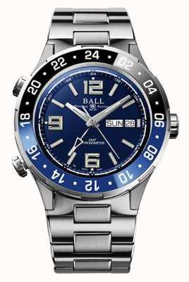 Ball Watch Company Roadmaster marine gmt bisel de cerámica esfera azul DG3030B-S1CJ-BE