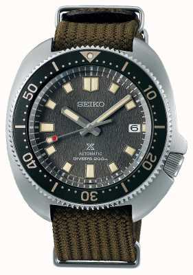 Seiko Reloj de tela con reinterpretación willard 1970 de Prospex SPB237J1