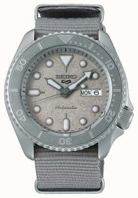 Seiko Reloj 5 sport cement collection nato 42,5 mm SRPG61K1