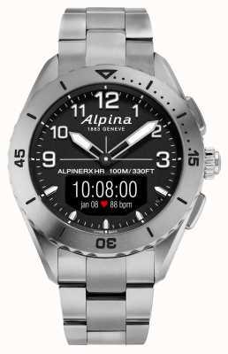 Alpina | alpinerx vivo | reloj inteligente de titanio | AL-284LBBW5TAQ1B