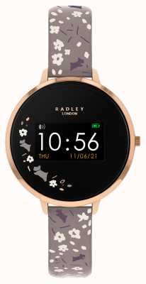 Radley Reloj inteligente serie 3 correa floral gris RYS03-2016