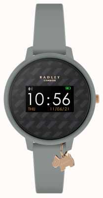 Radley Reloj inteligente serie 3 correa gris y colgante para perro RYS03-2018