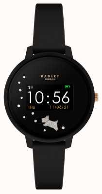 Radley Reloj inteligente serie 3 correa de silicona negra RYS03-2026