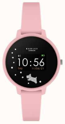 Radley Reloj inteligente serie 3 correa de silicona rosa RYS03-2027