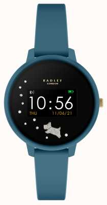 Radley Reloj inteligente serie 3 de silicona verde azulado RYS03-2028