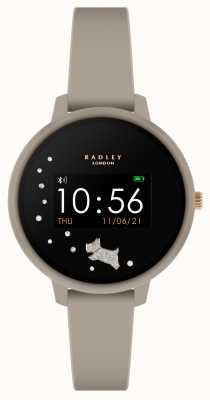 Radley Reloj inteligente serie 3 correa de silicona gris RYS03-2032