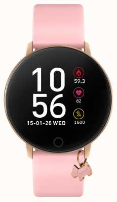 Radley Reloj inteligente serie 5 correa rosa y colgante para perro RYS05-2040