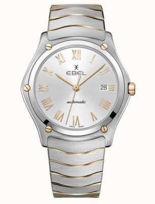 EBEL Reloj automático de dos tonos sport classic para hombre 1216503M