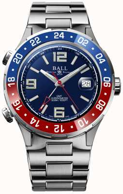 Ball Watch Company Roadmaster pilot gmt edición limitada esfera azul DG3038A-S2C-BE