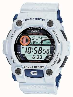 Reloj Casio G-Shock Blanco Alarma Cronógrafo G-7900A-7ER