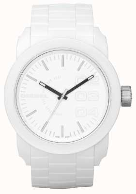 Diesel Reloj de esfera blanca unisex DZ1436