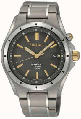 Seiko Hombre cinético de titanio SKA765P1