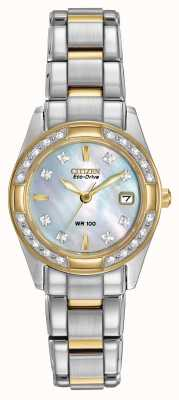 Citizen Ladies regente 28 diamantes EW1824-57D