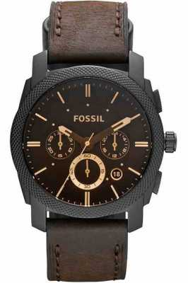 Fossil Reloj de la máquina cronógrafo marrón para hombre FS4656