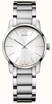 Calvin Klein Señoras brazalete de acero stianless City K2G23126