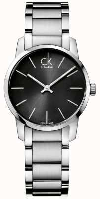 Calvin Klein Caja para mujer de acero inoxidable K2G23161