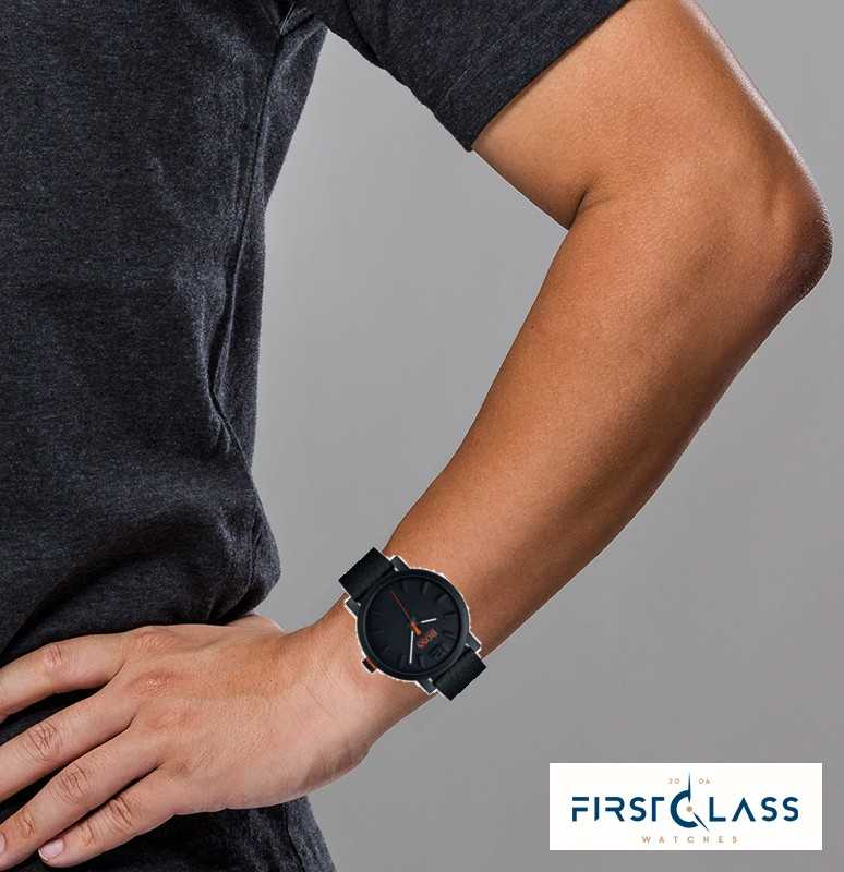 b407d8840236 Hugo Boss Orange Reloj Bilbao Para Hombre En Negro 1550038 - First ...